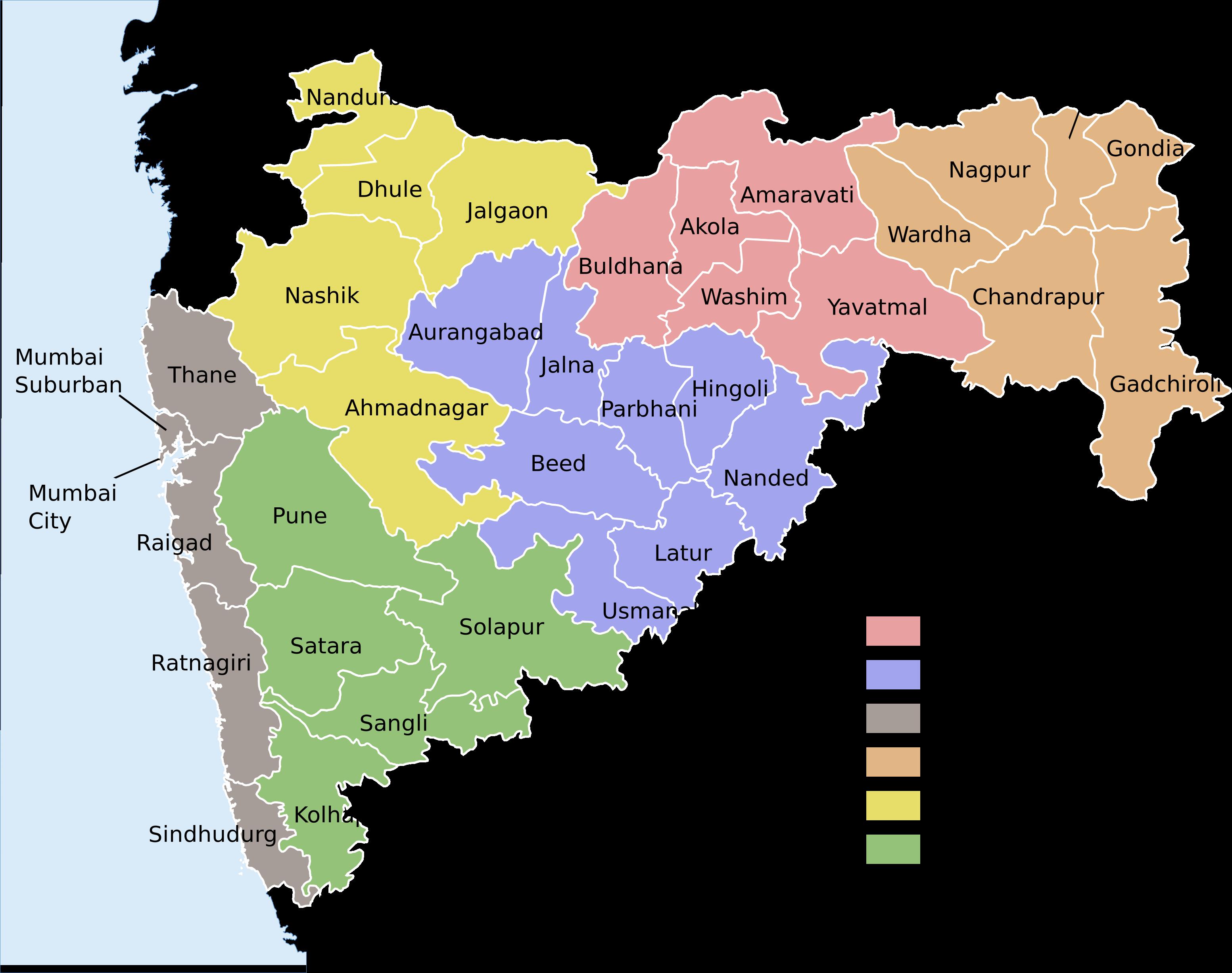 aurangabad maharashtra map